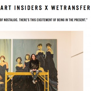 Art Insiders x Wetransfer