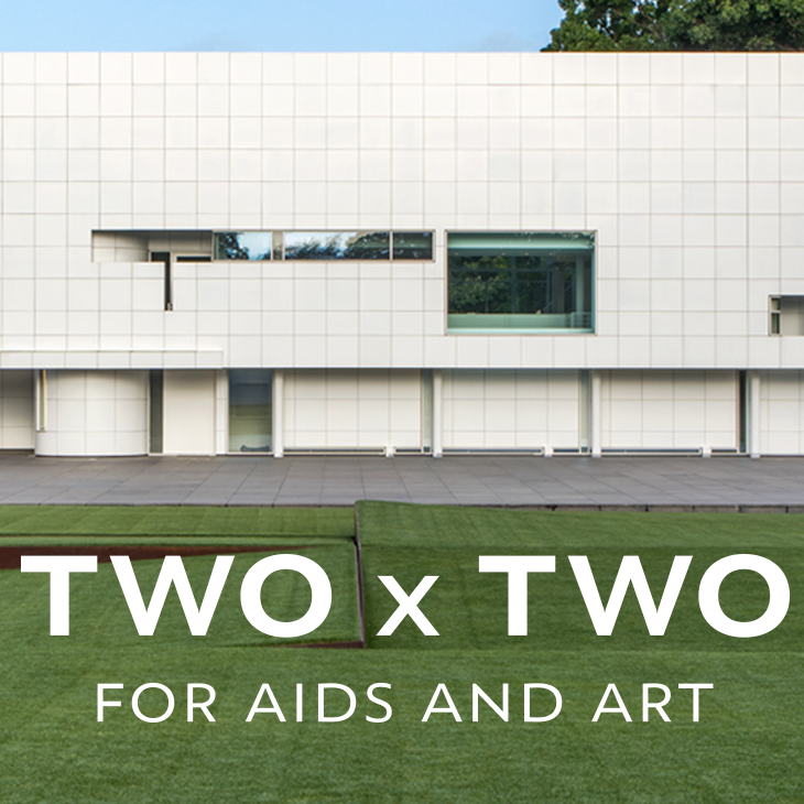 TWO x TWO for AIDS and Art 2019